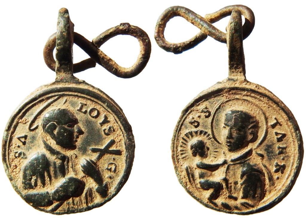 San Luis Gonzaga / San Estanislao de Kostka - s. XVIII P2010010