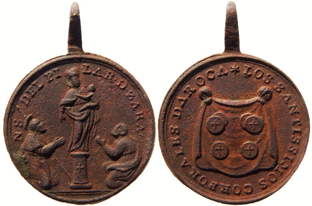 Virgen del Pilar / Corporales de Daroca - S. XVIII P2190210