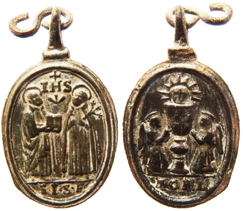San Ignacio de Loyola y San Francisco Javier / Santísimo Sacramento - s. XVII P2260111