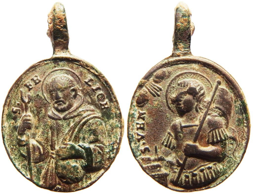 San Félix de Cantalicio / San Venancio de Camerino - s. XVIII P3040010