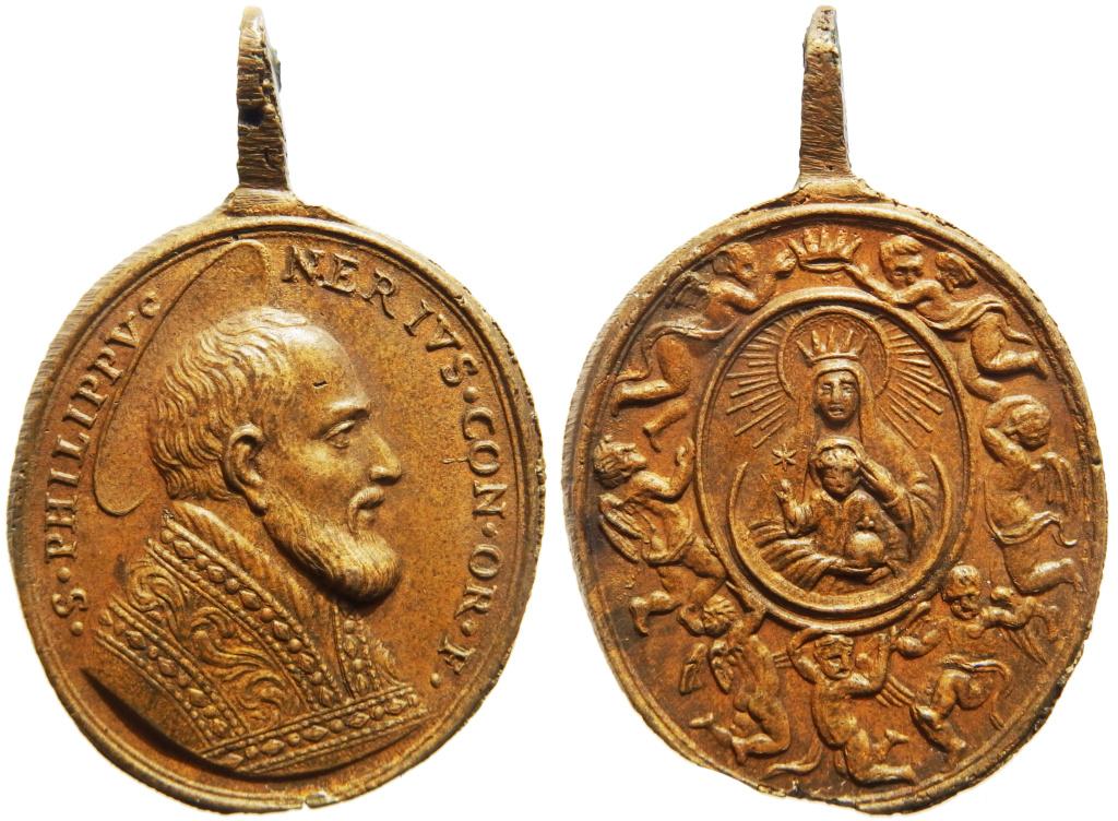 San Felipe Neri / Coronación Madonna della Vallicella - s. XVIII P3040012