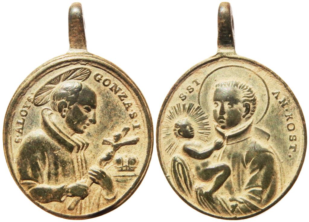 San Luis Gonzaga / San Estanislao de Kostka - s. XVIII P3090110