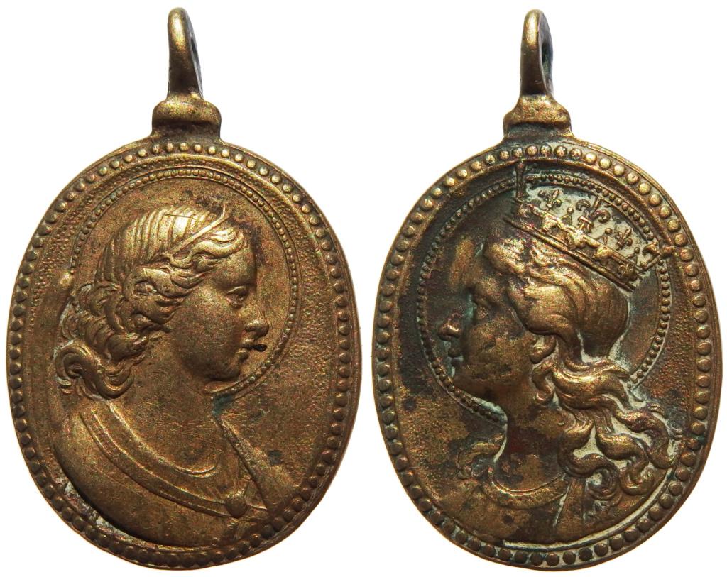 Arcángel Gabriel / Virgen María Coronada - S. XVII (R.M. SXVII-O530) P3130010