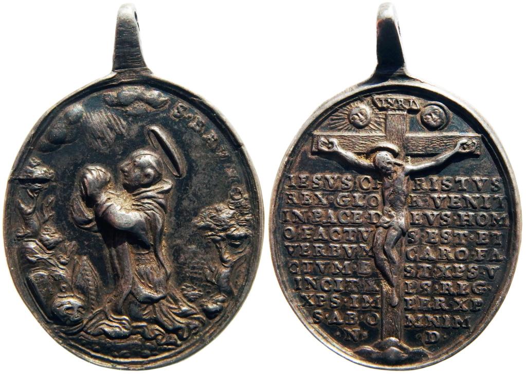 San Bruno de Colonia / Crucifixión con oración protectora (R.M. SXVIII-O451) P3250127
