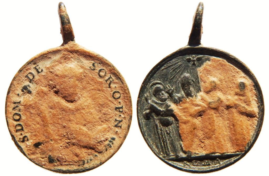 Santo Domingo de Soriano / Cuatro Santos canonizados en 1712 - s. XVIII P3250130