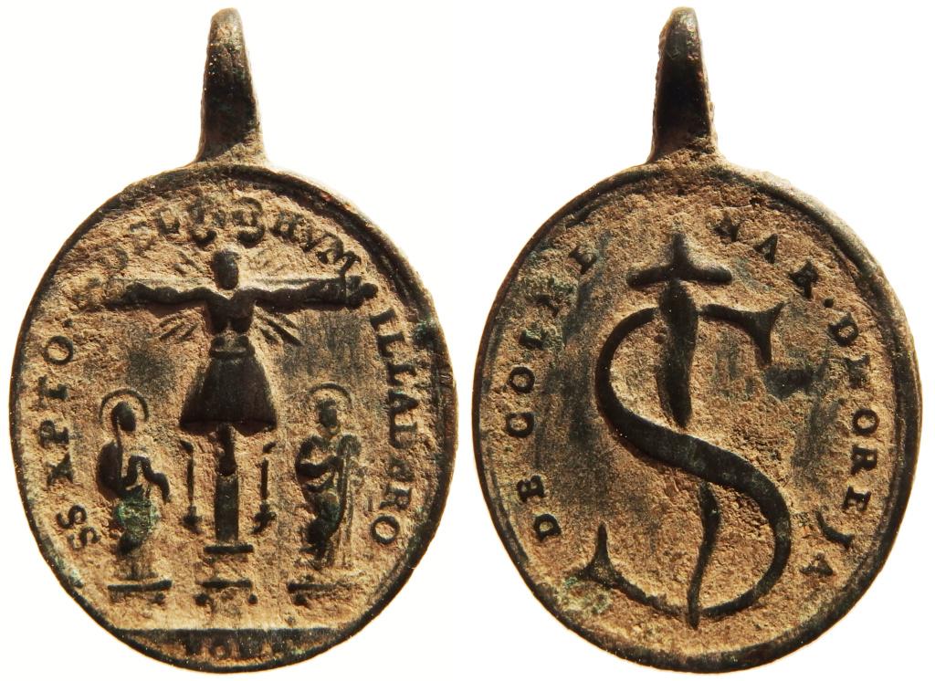 """Santísimo Cristo del Humilladero / Jeroglífico """"S-clavo """" . S.XVIII – MR(035) P3250210"""