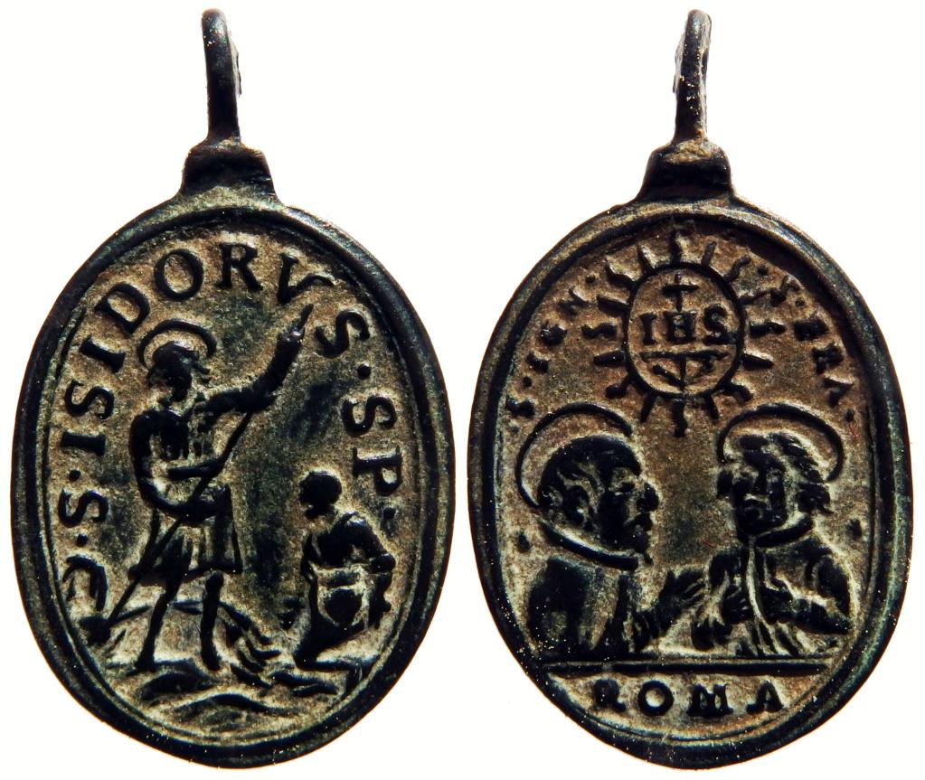 S. Ignacio de Loyola y S. Francisco Javier / S. Isidro  S.XVII P3250212