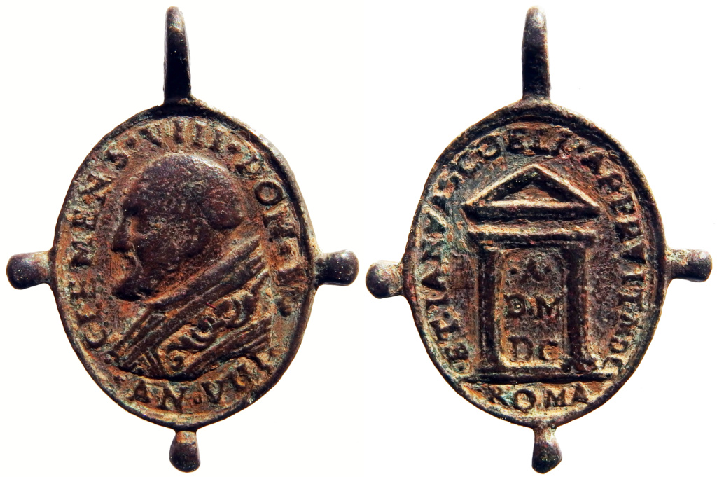 Clemente VIII / Puerta Santa - Jubileo 1600 - (R.M. SXVII-O528) P3250214