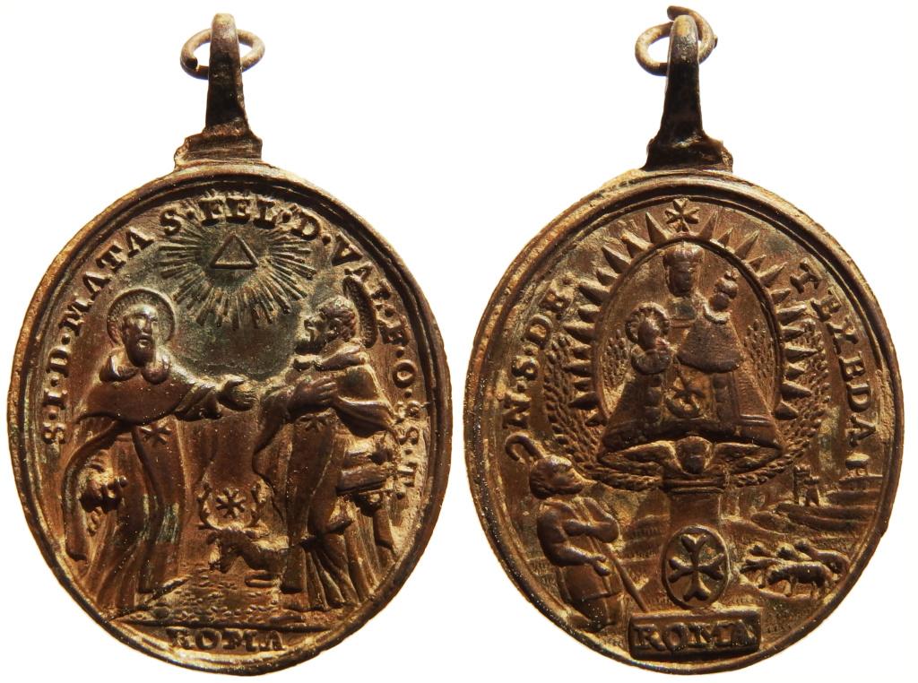 S. Juan de Mata y S. Félix de Valois / Virgen de la Tejeda - s. XVII P3250215