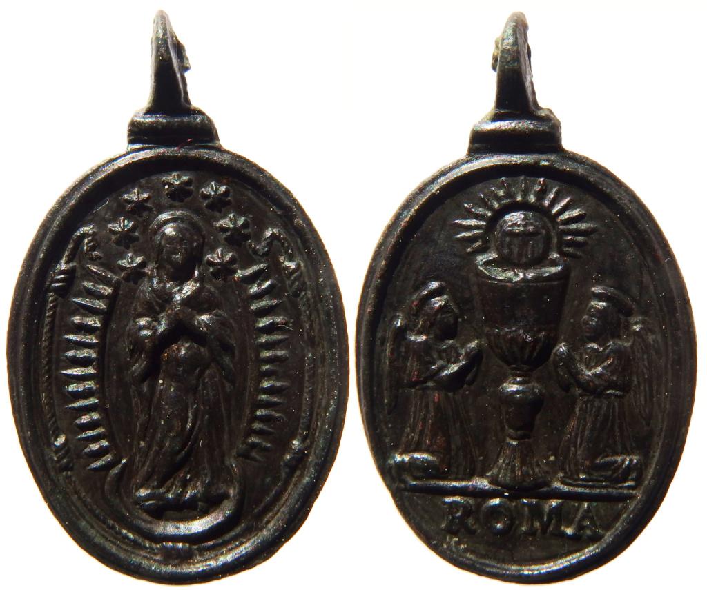 Inmaculada Concepcion / Santisimo Sacramento - s. XVII P3260110