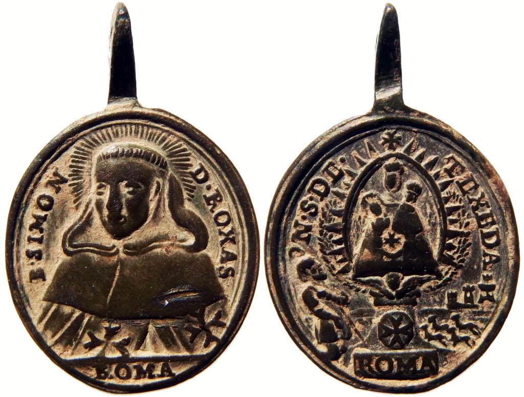 Beato Simón de Rojas / Virgen de la Tejeda  (R.M. SXVIII-O459) P3260113