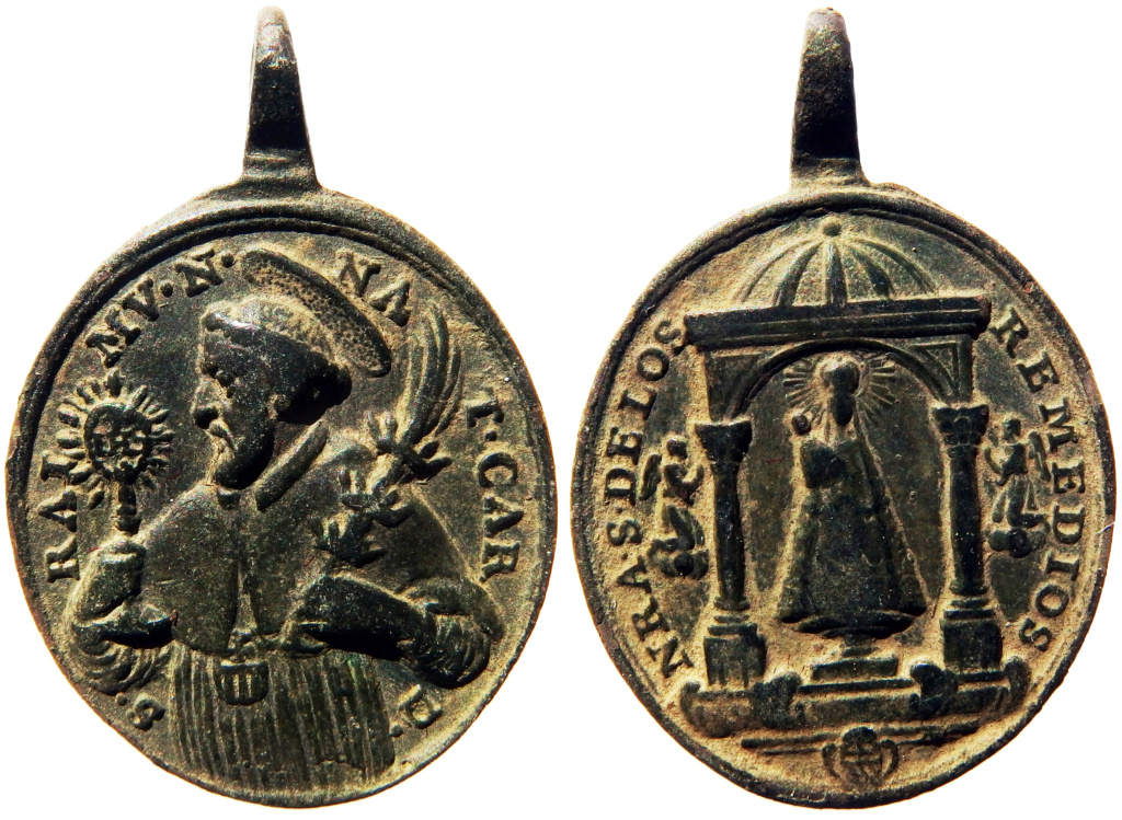 San Ramón Nonato / N. S. de los Remedios - s. XVIII (R.M. SXVIII-O461) P3260115
