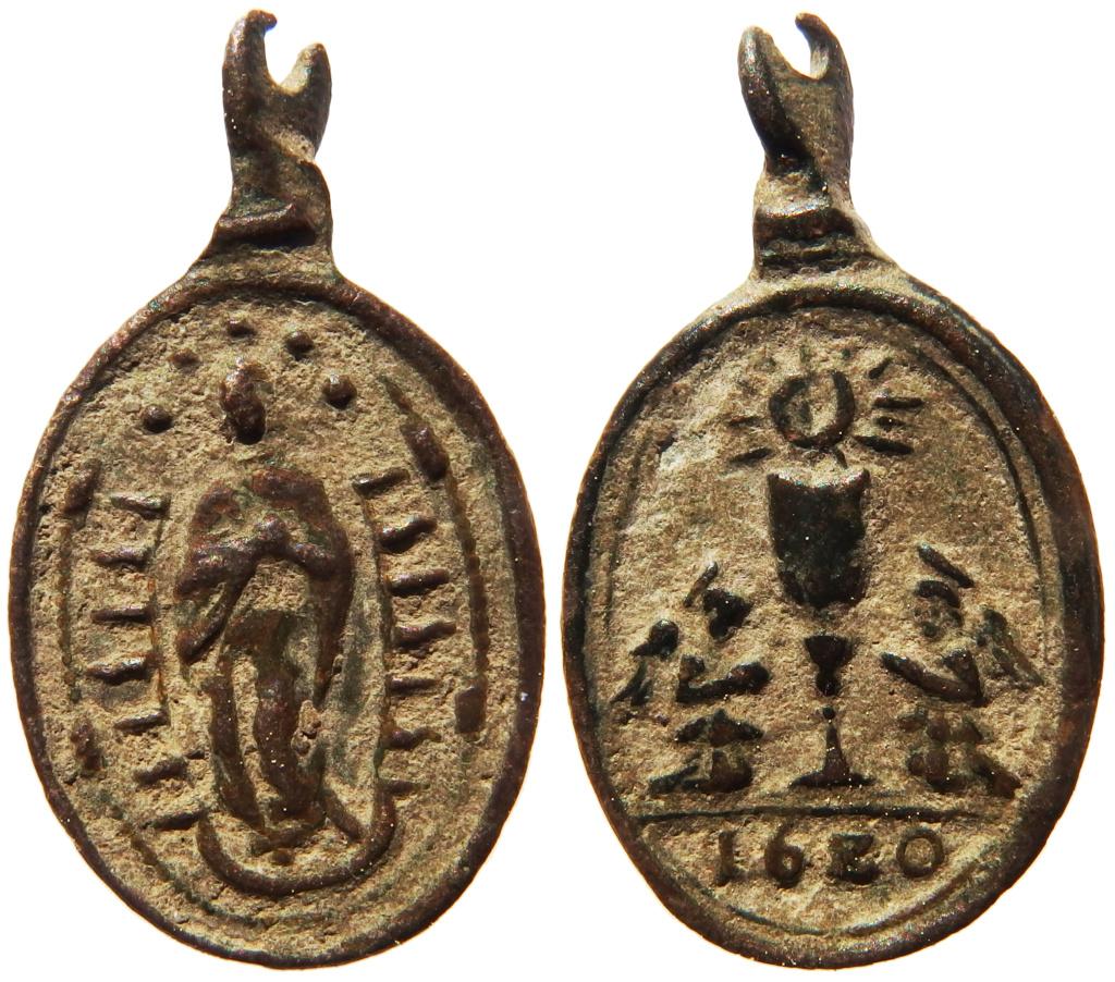 Inmaculada Concepción / Caliz Eucarístico (1620) ( R.M. SXVII-O43-b) - MR(176) P3260213
