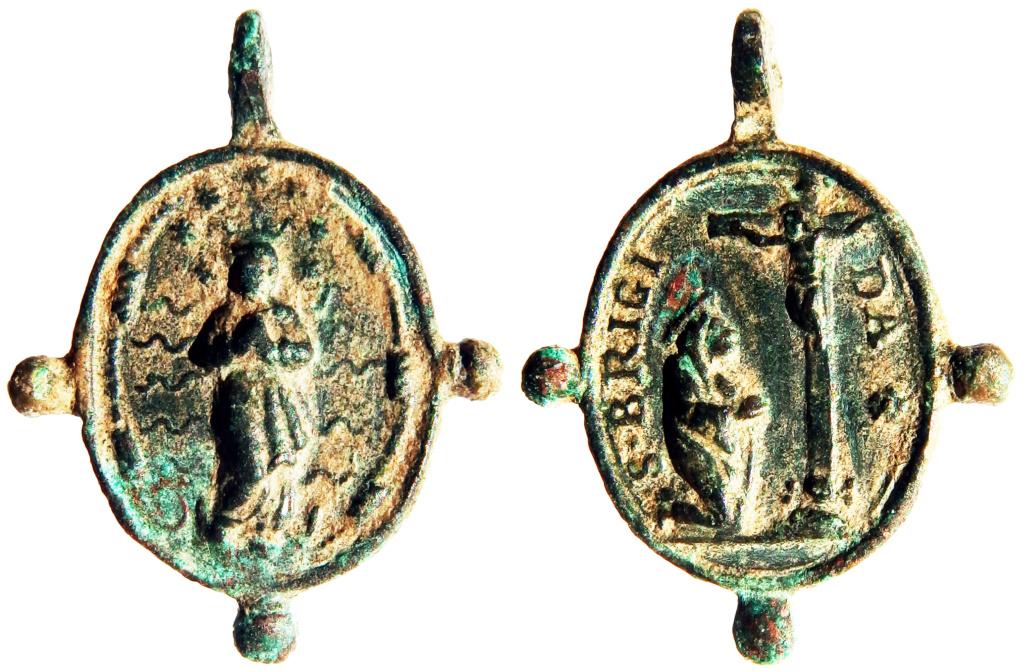 Inmaculada Concepción / Santa Brígida de Suecia - s- XVII (R.M.  Pe Brígida 1) P5030114