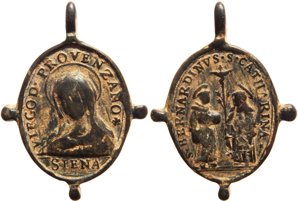 Madonna de Provenzano / Santa Catalina y San Bernardino de Siena - s. XVII P5140418
