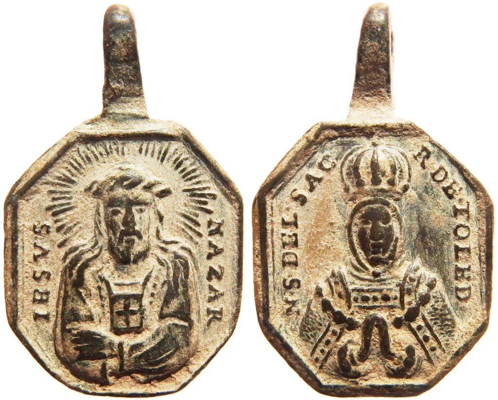 Jesús Nazareno (Cristo del Rescate) / Virgen del Sagrario de Toledo - s. XVIII P5140419