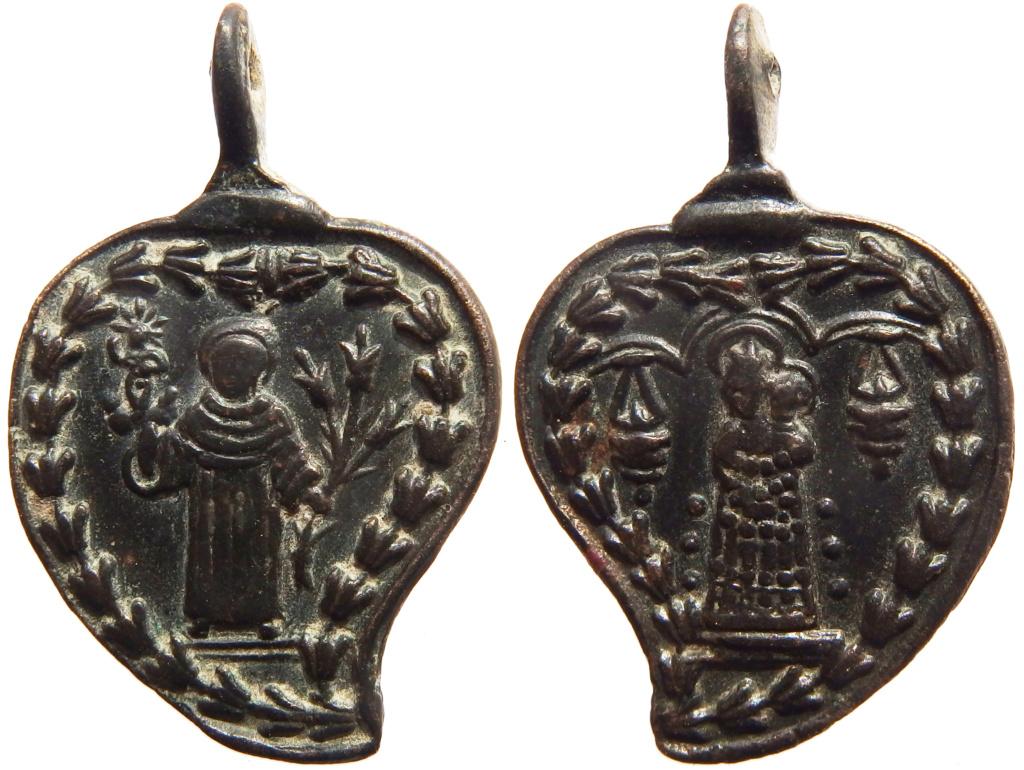 San Antonio de Padua / Virgen de Loreto - s. XVII P5140428