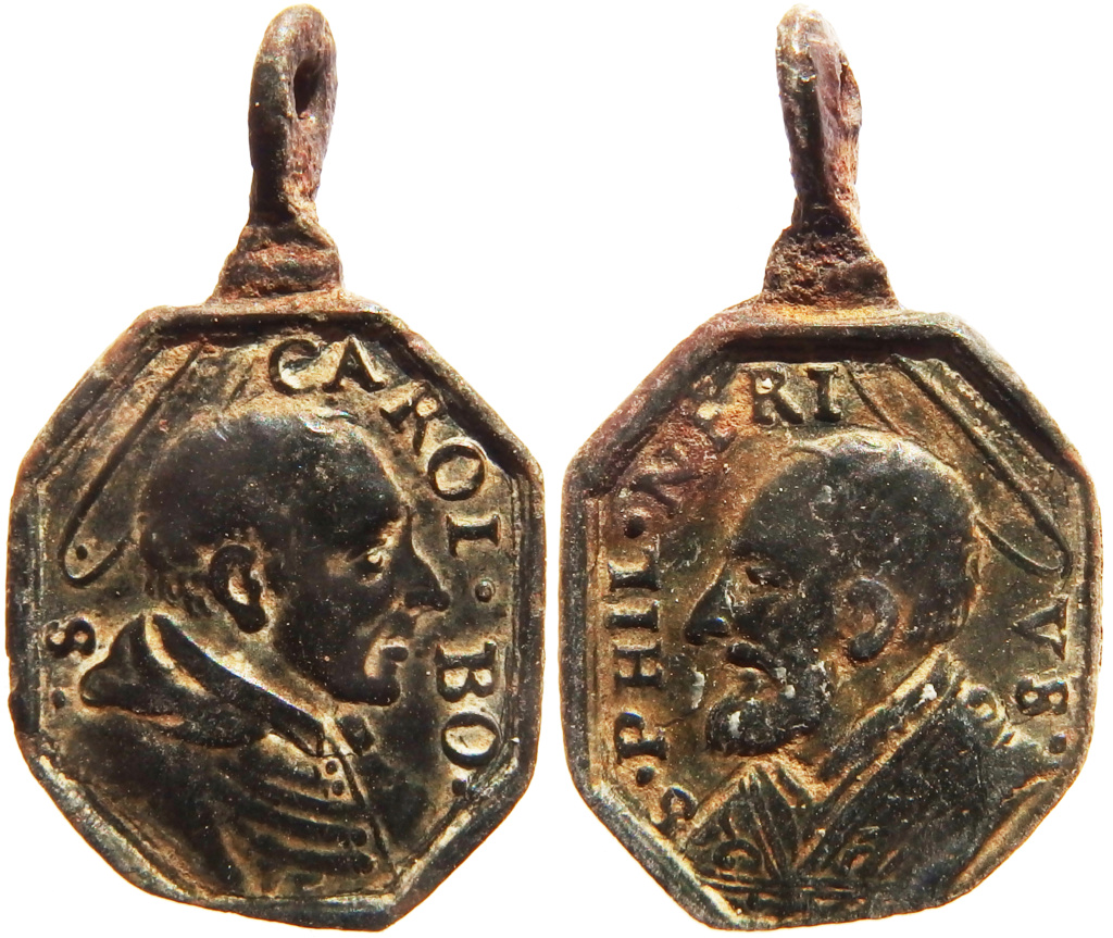 San Carlos Borromeo / San Felipe Neri - s. XVII P5140515