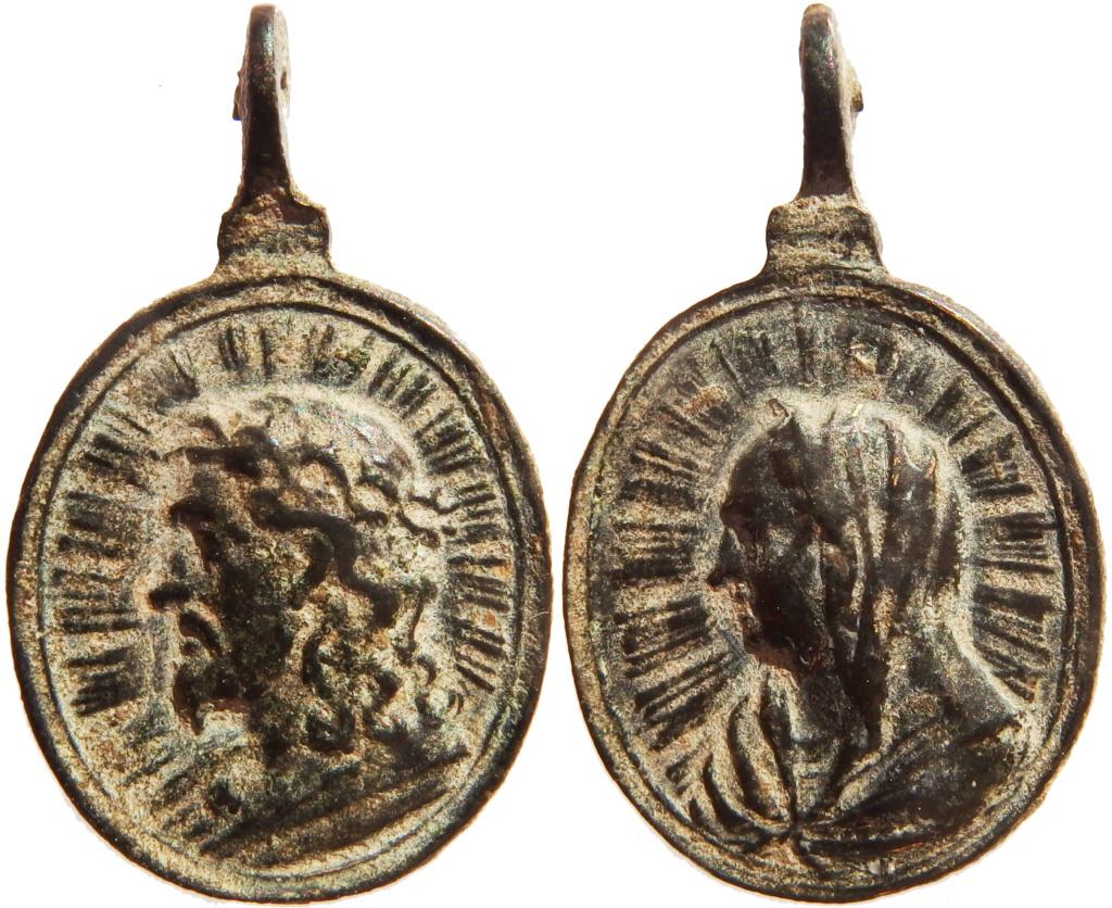 Salvator Mundi / Mater Salvatoris - s. XVII P5180210