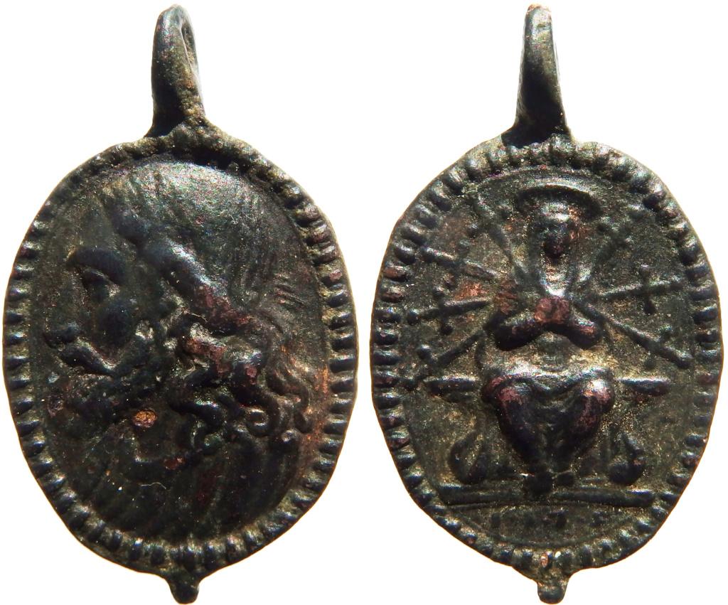 Salvator Mundi / Virgen Dolorosa - 1575 P5190310