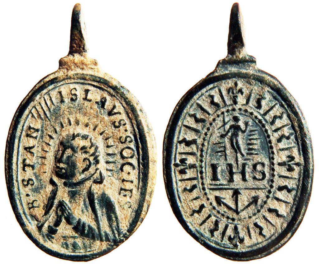 Beato Estanislao de Kostka / IHS Nomina Sacra - S. XVII P6180311