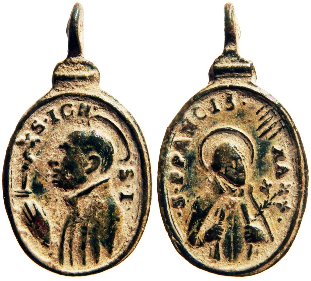 San Ignacio de Loyola / San Francisco Javier - s. XVII (R.M. SXVII-O535) P6180315