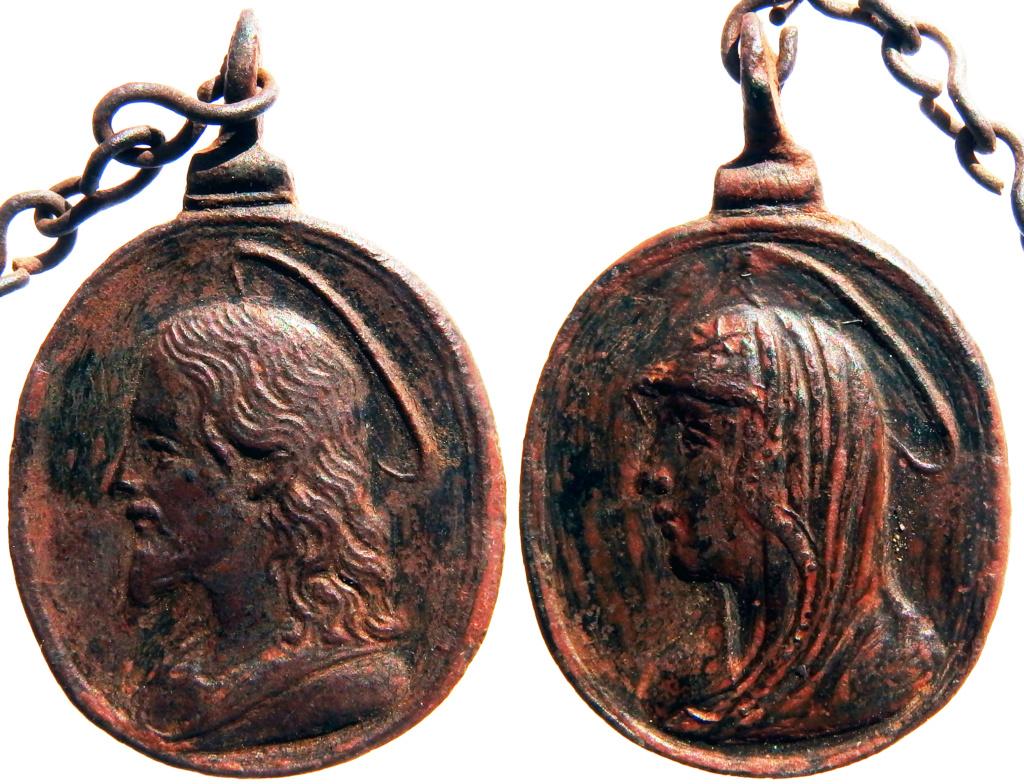 Salvator Mundi / Mater Salvatoris - s. XVII P6180316