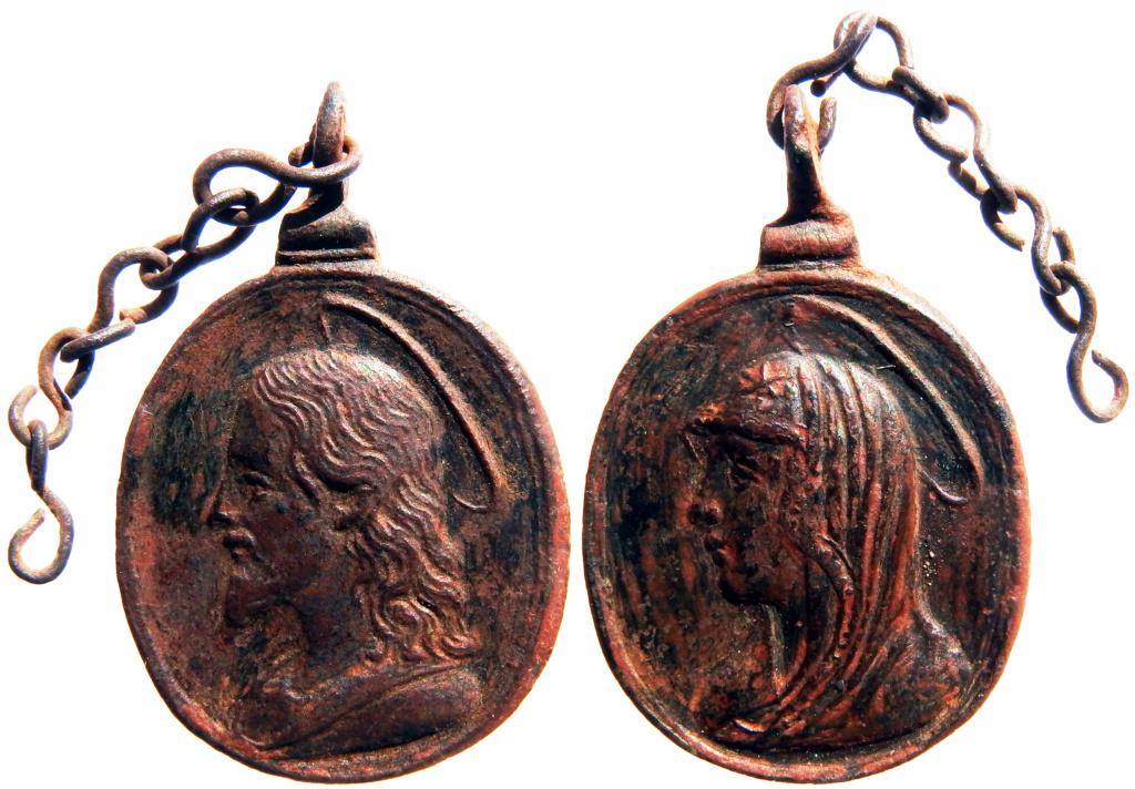 Salvator Mundi / Mater Salvatoris - s. XVII P6180317
