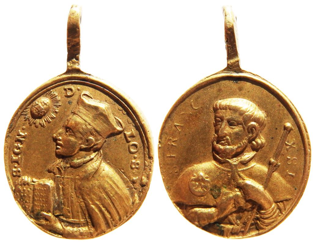 San Ignacio de Loyola / San Francisco Javier - s. XVIII P8040415