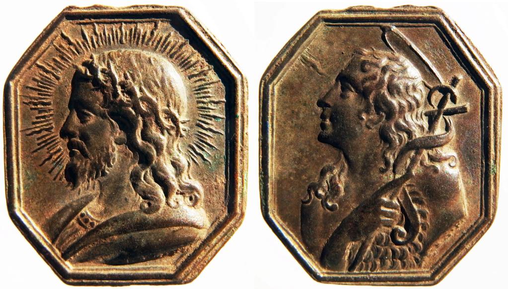 Salvator Mundi / San Juan Bautista - S. XVII (II mitad) P8040510