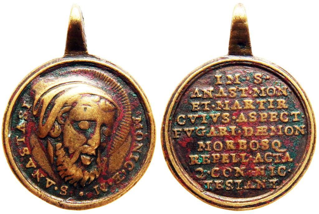 San Anastasio / Inscripción - s. XVIII (R.M. SXVIII-C193) P9220011