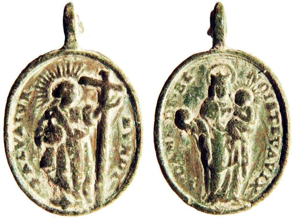 Salvator Mundi / Notre Dame de Benoite-Vaux - s. XVIII P9250016