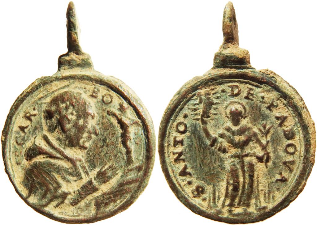 San Carlos Borromeo / San Antonio de Padua - s. XVII P9290112