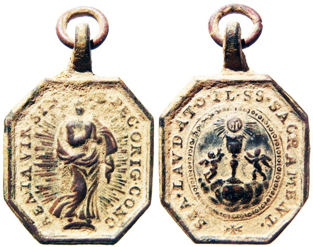 Inmaculada Concepción / Santísimo Sacramento - s. XVIII Pa160012