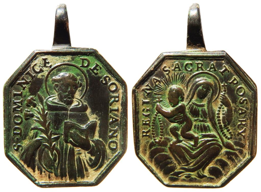 Santo Domingo de Guzmán / Virgen del Rosario - s. XVIII Pa160013