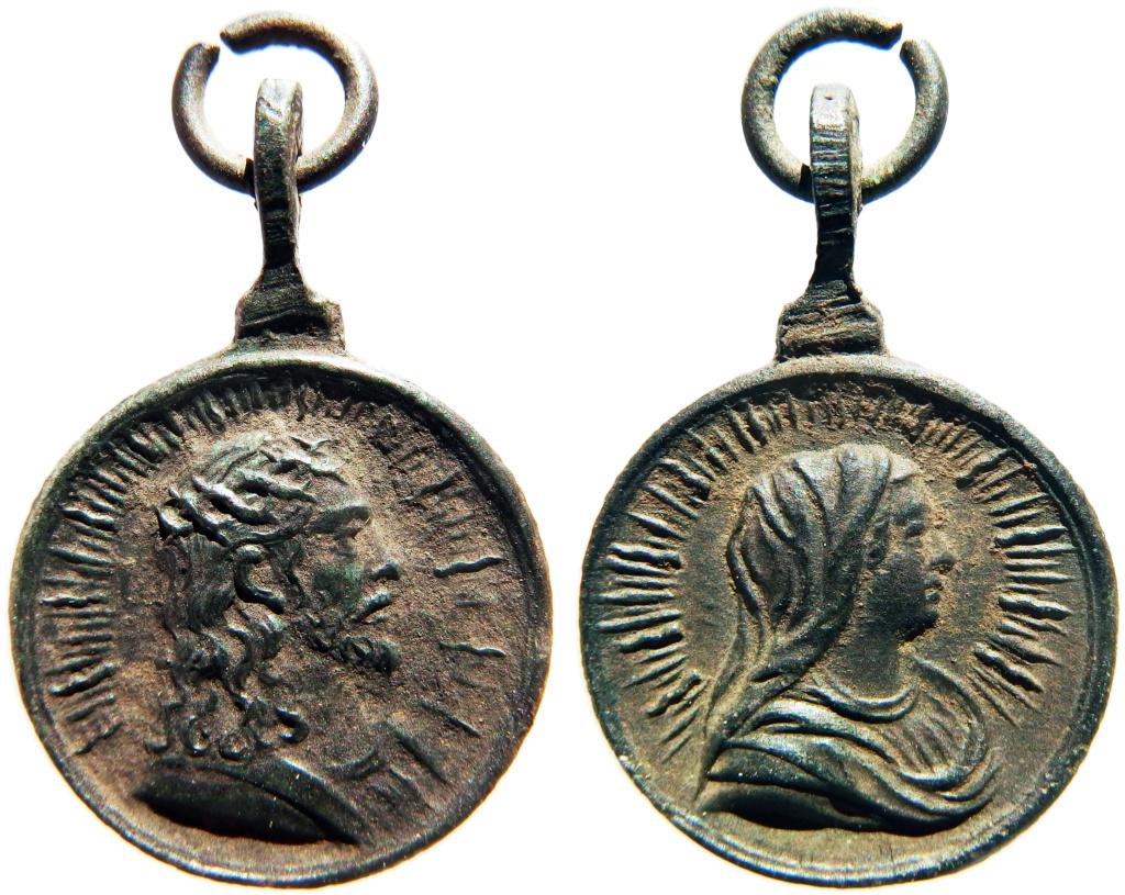Salvator Mundi / Mater Salvatoris - s. XVII Pb200010