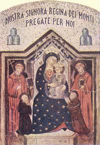 Madonna Dei Monti / Jesucristo orando en el Huerto de los Olivos - s. XVII Regina10