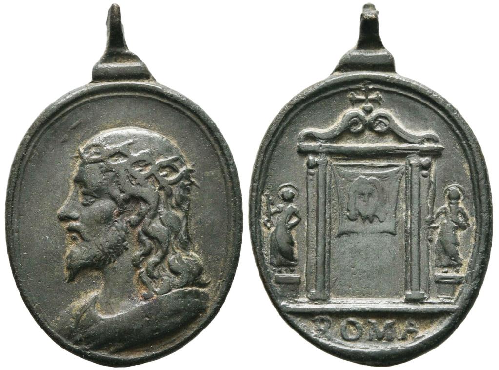 Salvator Mundi / Puerta Santa - s. XVII (R.M. SXVII-O557) S-l16016
