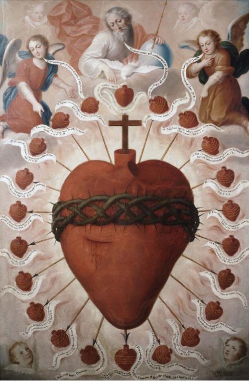 Sagrado Corazón de Jesús / Sagrado Corazón de María - s. XVIII Sagrad10
