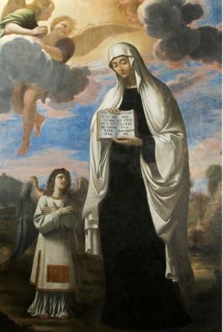 San Carlos Borromeo / Santa Francisca Romana - s. XVII Santa-11