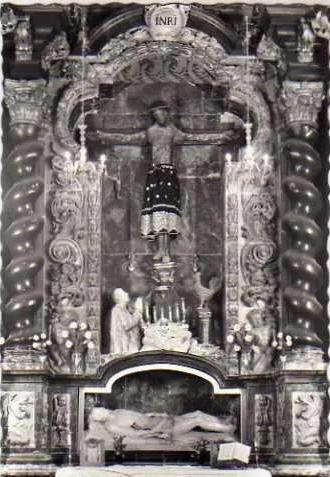 Santo Domingo de Guzmán / Santísimo Cristo del Milagro  (R.M. SXVIII-O433 Sin_tz11