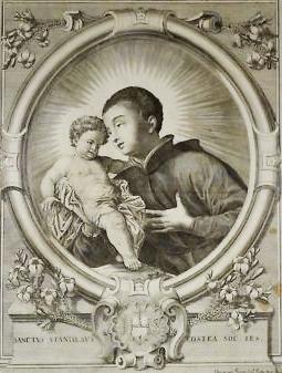 San Luis Gonzaga / San Estanislao de Kostka - s. XVIII St-sta10