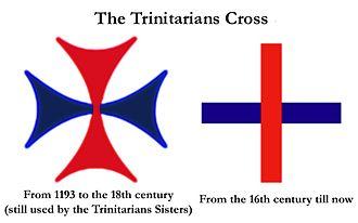 Santísima Trinidad / Cruz Trinitaria - s. XVII Trinit10