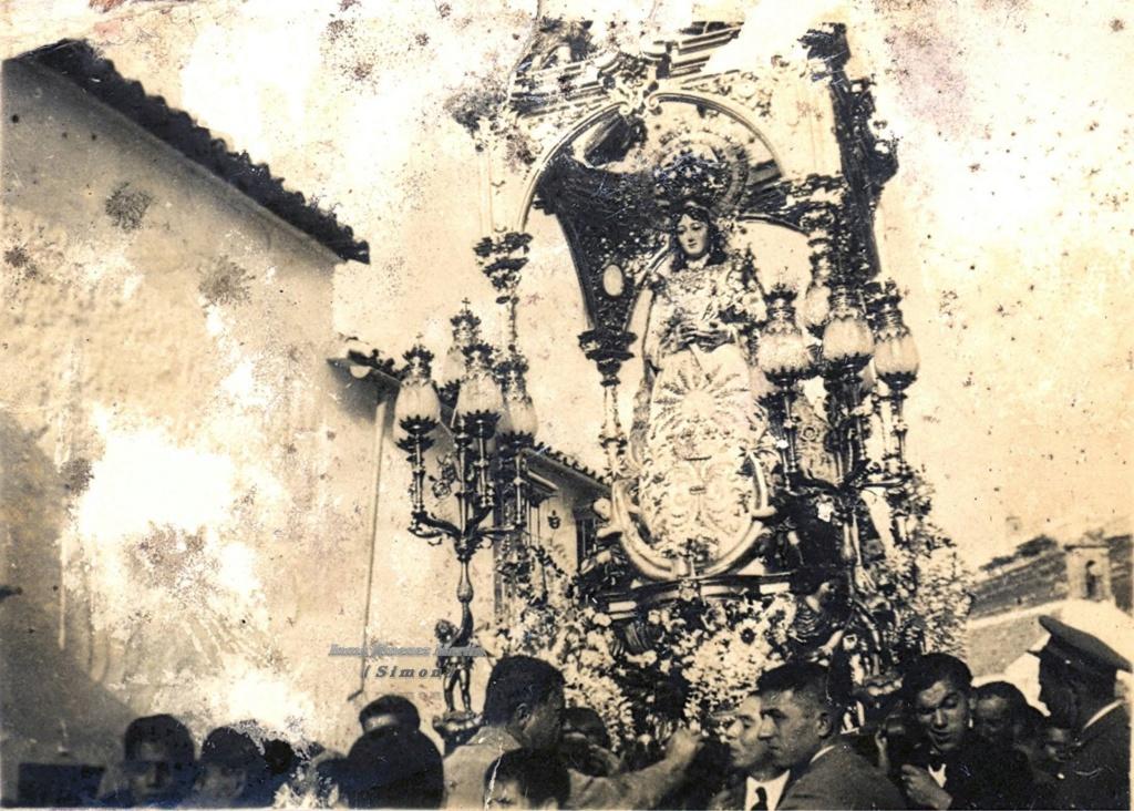 San Ramón Nonato / N. S. de los Remedios - s. XVIII (R.M. SXVIII-O461) Virgen10