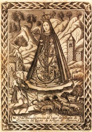 San Benito de Nursia / Virgen del Tremedal - s. XVIII (R.M. SXVIII-O469) Virgen11