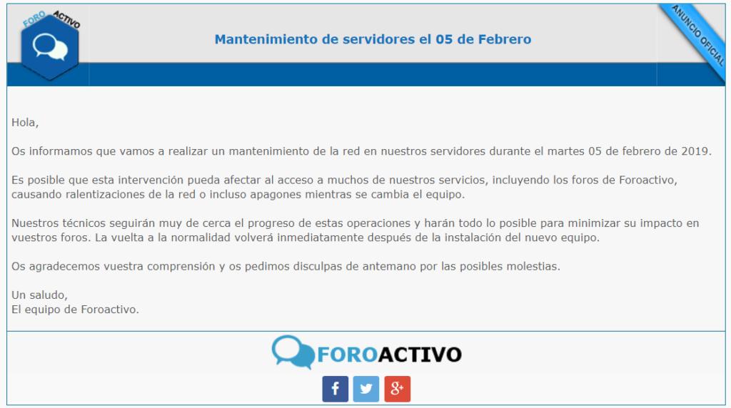 Mantenimiento de servidores de ForoActivo el 05 de Febrero Aaa10