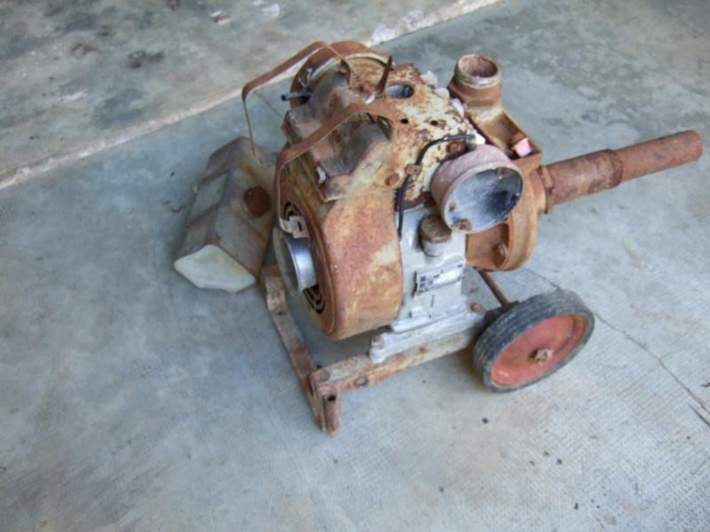 restauration - Restauration Motopompe Bernard de 1969 Dscf7512
