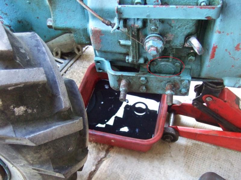 [ Tuto ] Vidange et nettoyage filtre à huile Staub PP4BD Dscf8114