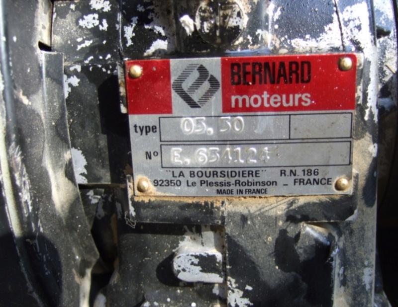 Bernard - moteur Bernard 05 50 diesel Img_0224