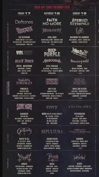 Resurrection Fest Estrella Galicia 2022. (29 - 3 Julio) Avenged Sevenfold, KoRn, Deftones, Sabaton y Bourbon! - Página 8 Captur76